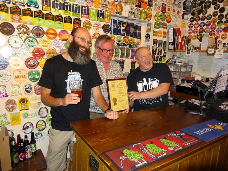E&MS Pub Of The Season (Summer) 2015 Award